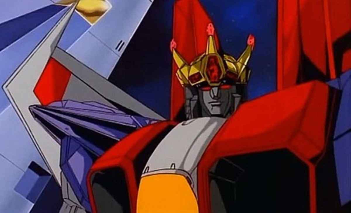 Upon Megatron's supposed demise, Starscream crowns himself as the ruler of the Decepticons.