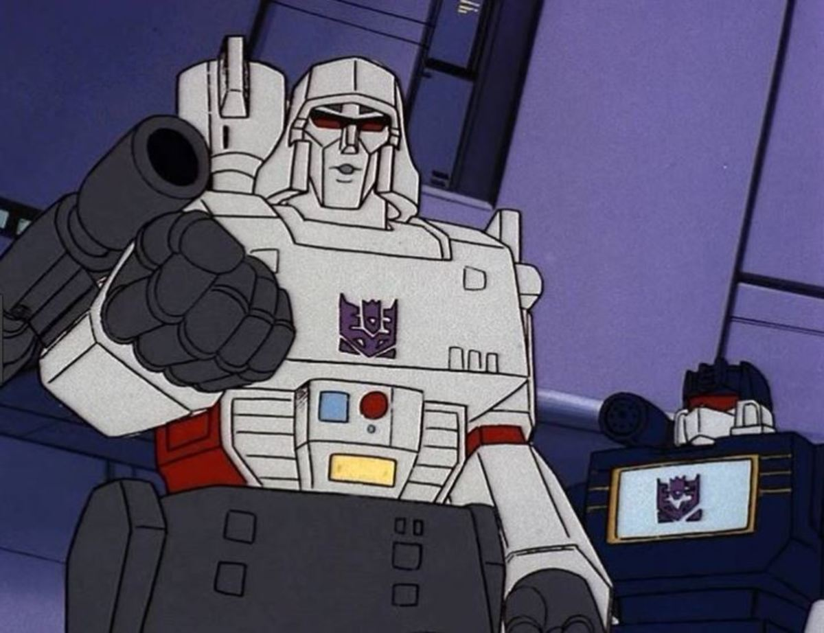 Megatron rules the Decepticons with an iron fist.
