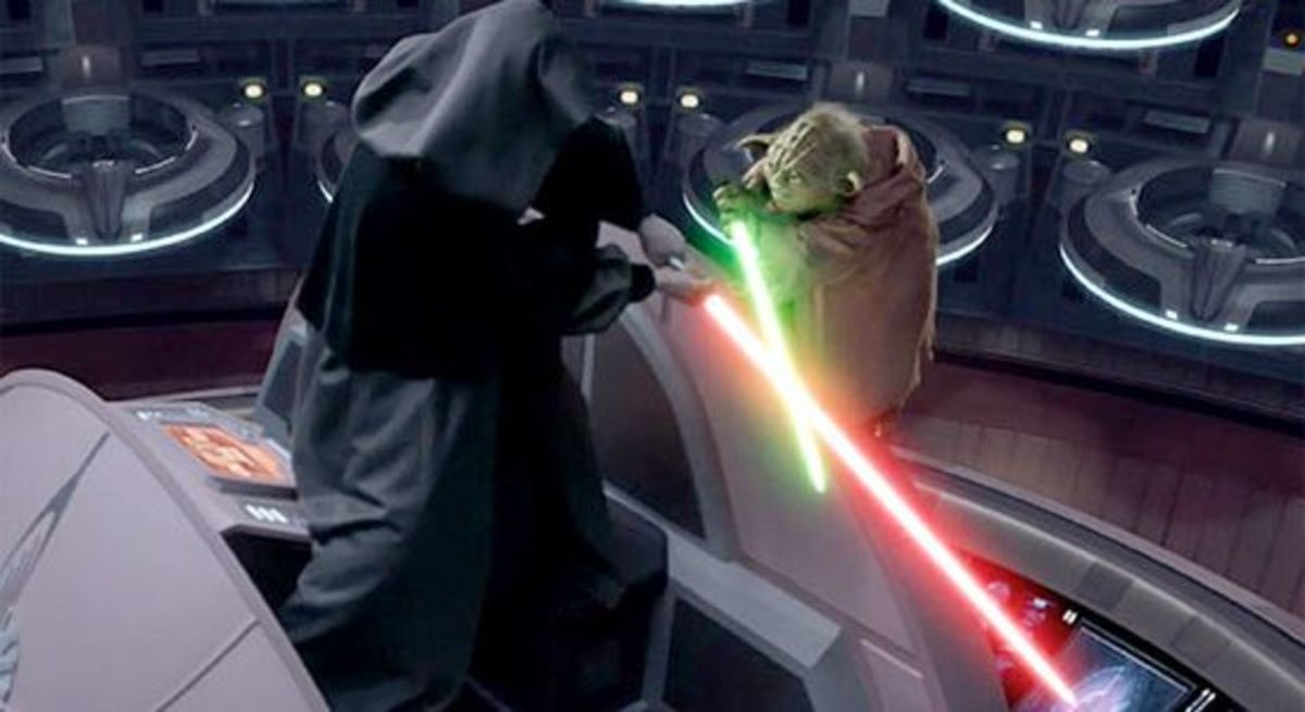 Darth Sidious vs Yoda