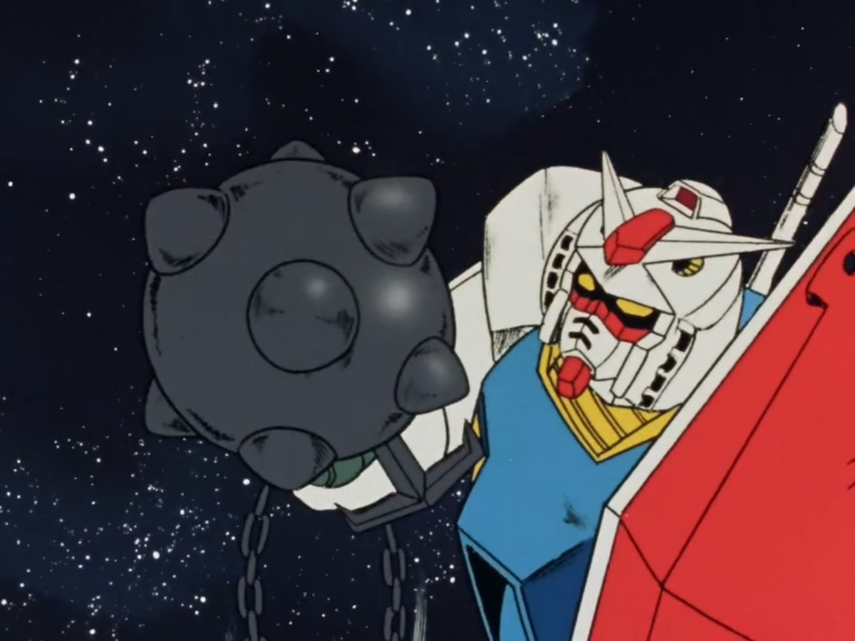The mobile suit wrecking ball.