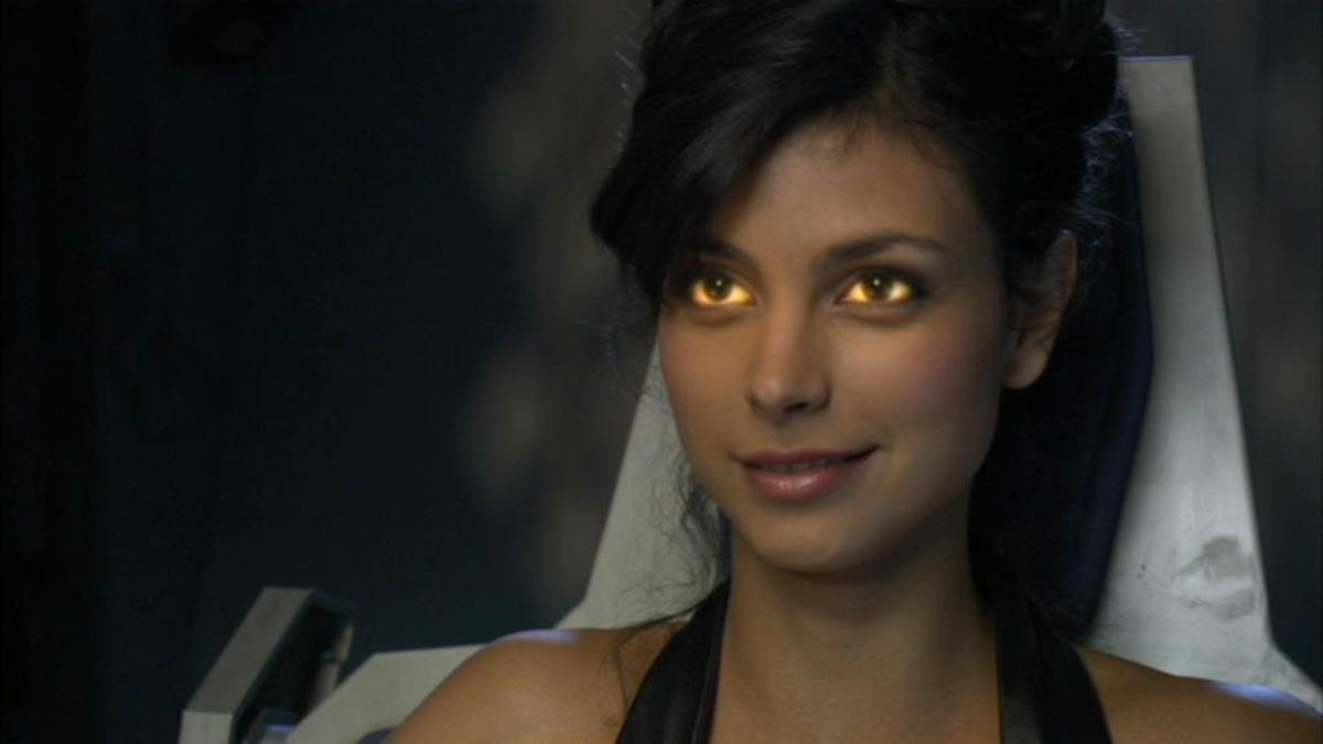 Adria as Ba'al's host (Stargate SG-1)