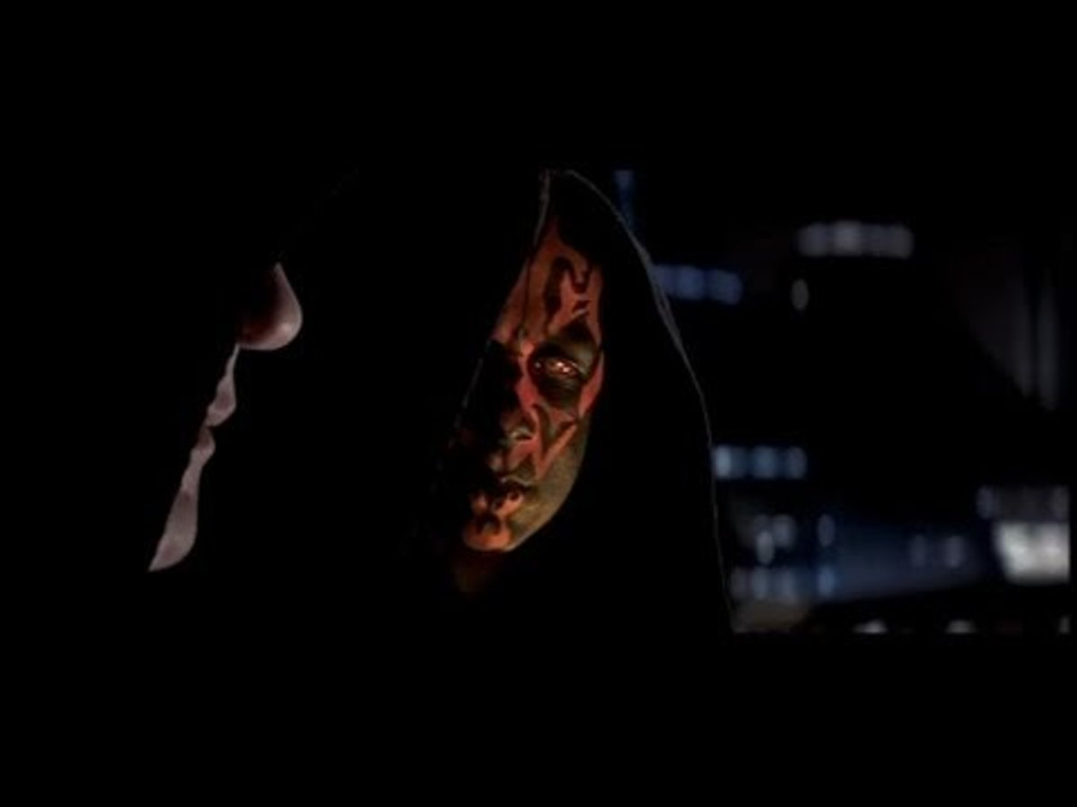 Darth Sidious and Darth Maul