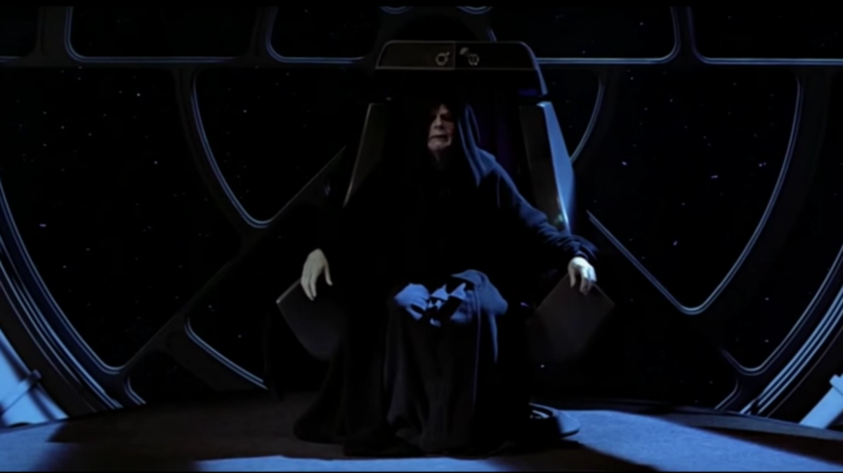 Emperor Palpatine's throne