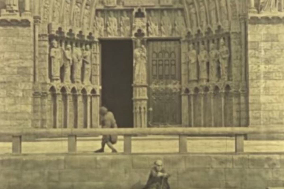 The Hunchback of Notre Dame Movie Set 1923