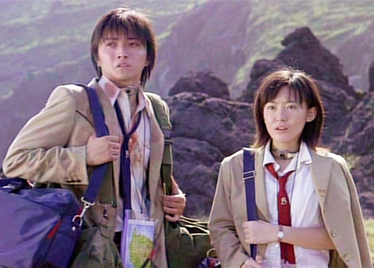 Battle Royale's Protagonists: Shuya and Noriko