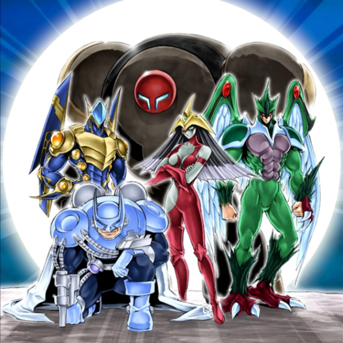 Elemental HERO members