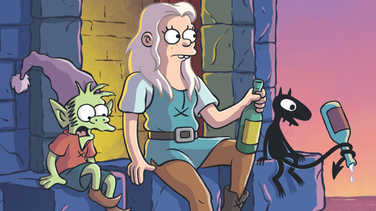 Matt Groening's new fantasy animated show, Disenchanted, will premiere on Netflix on August 17th, 2018.