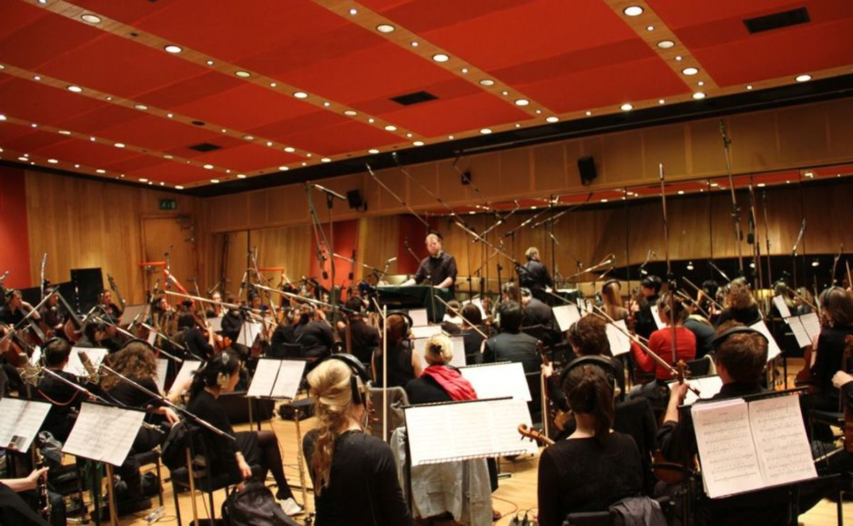 Nearly 200 musicians worked on the film's soundtrack