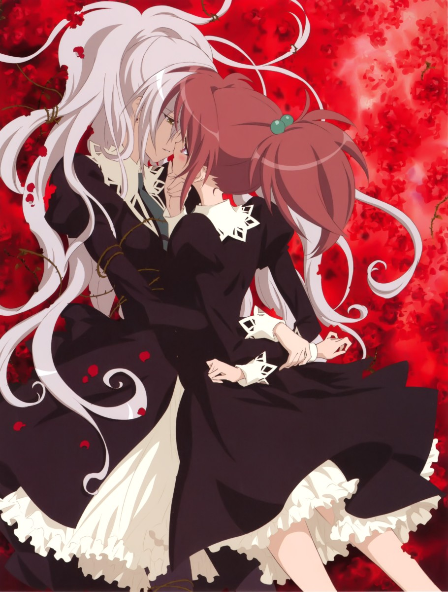 Official artwork for the anime series, Strawberry Panic.