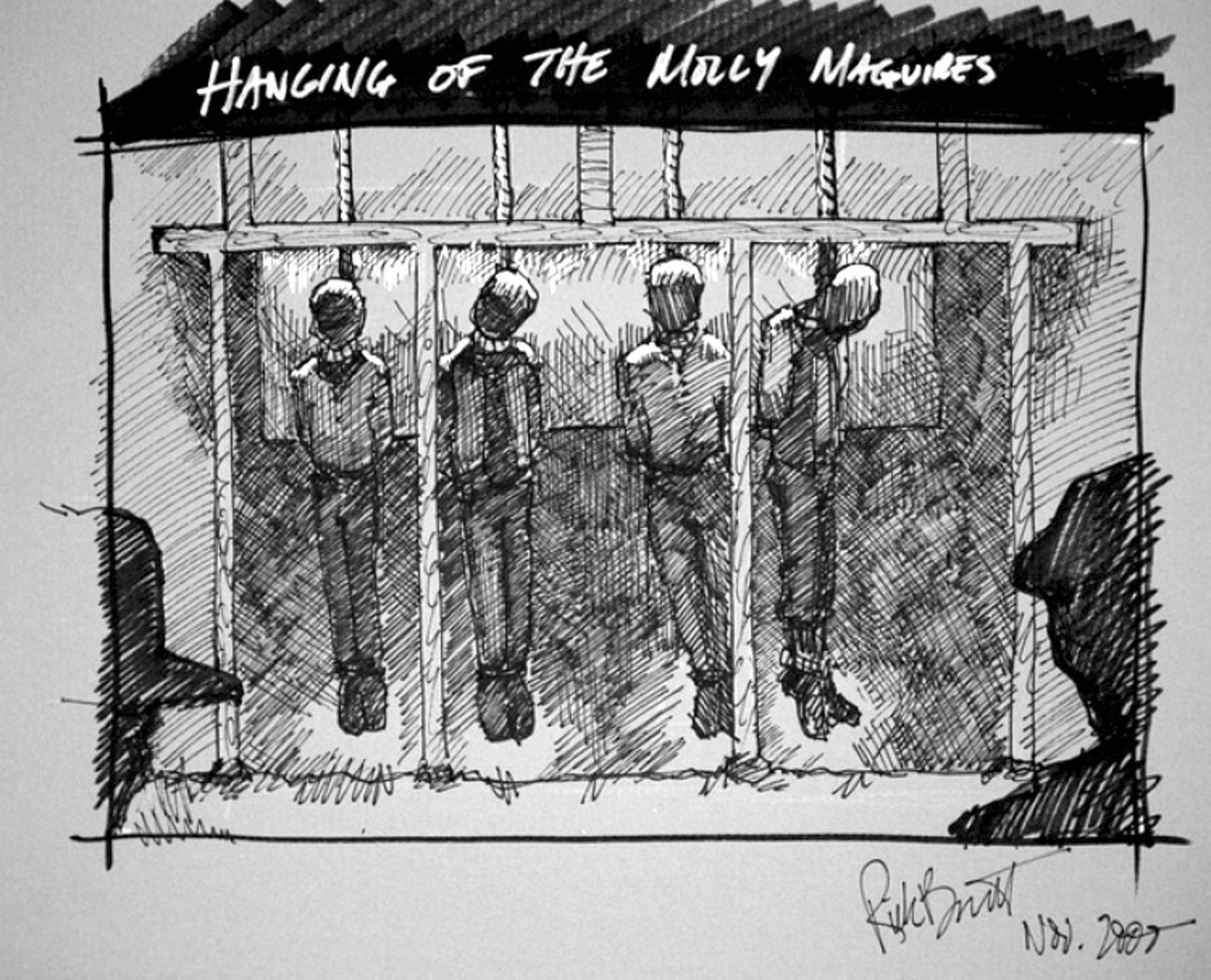 The Hangings of the Molly Maguires