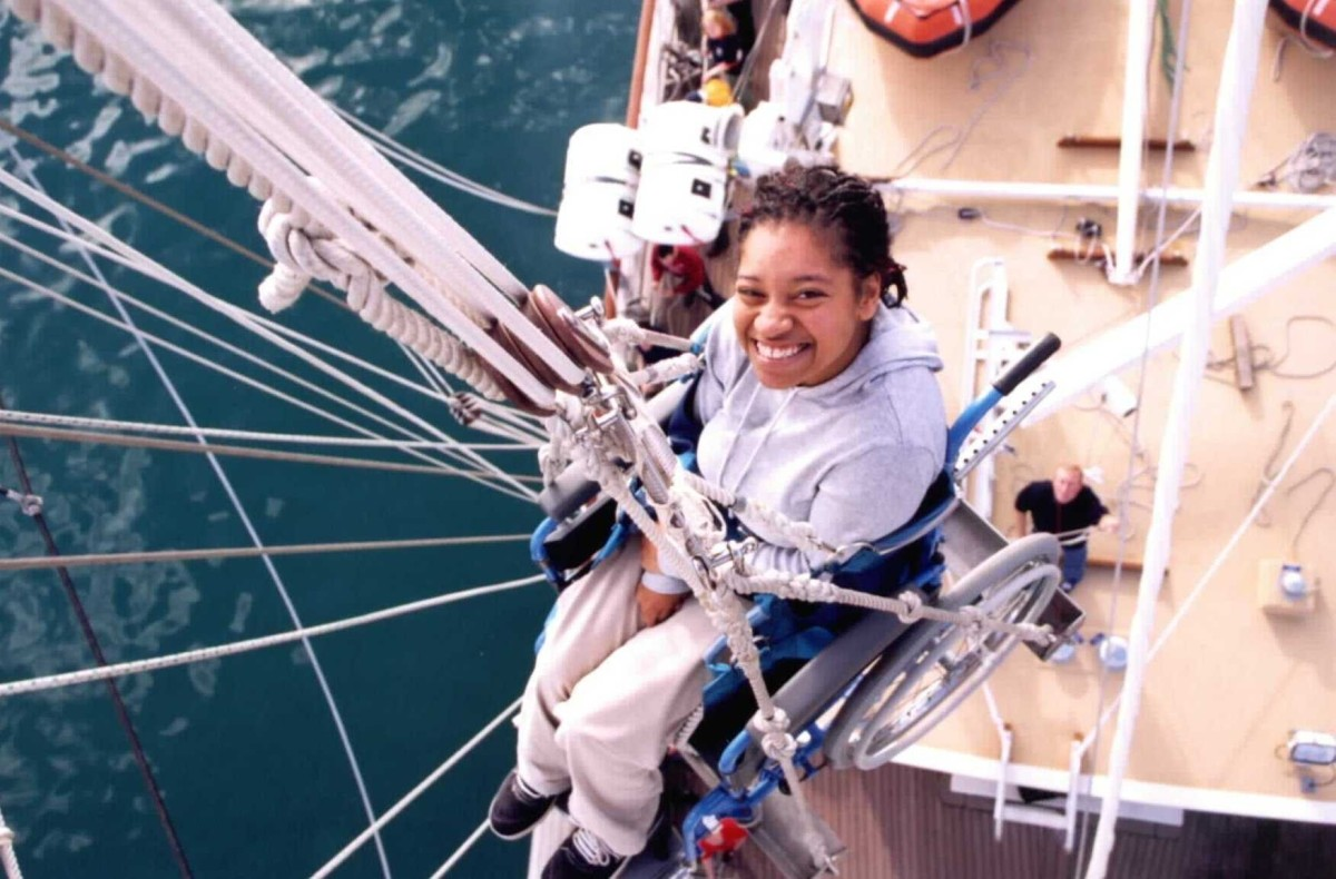 Wheelchair in Rigging