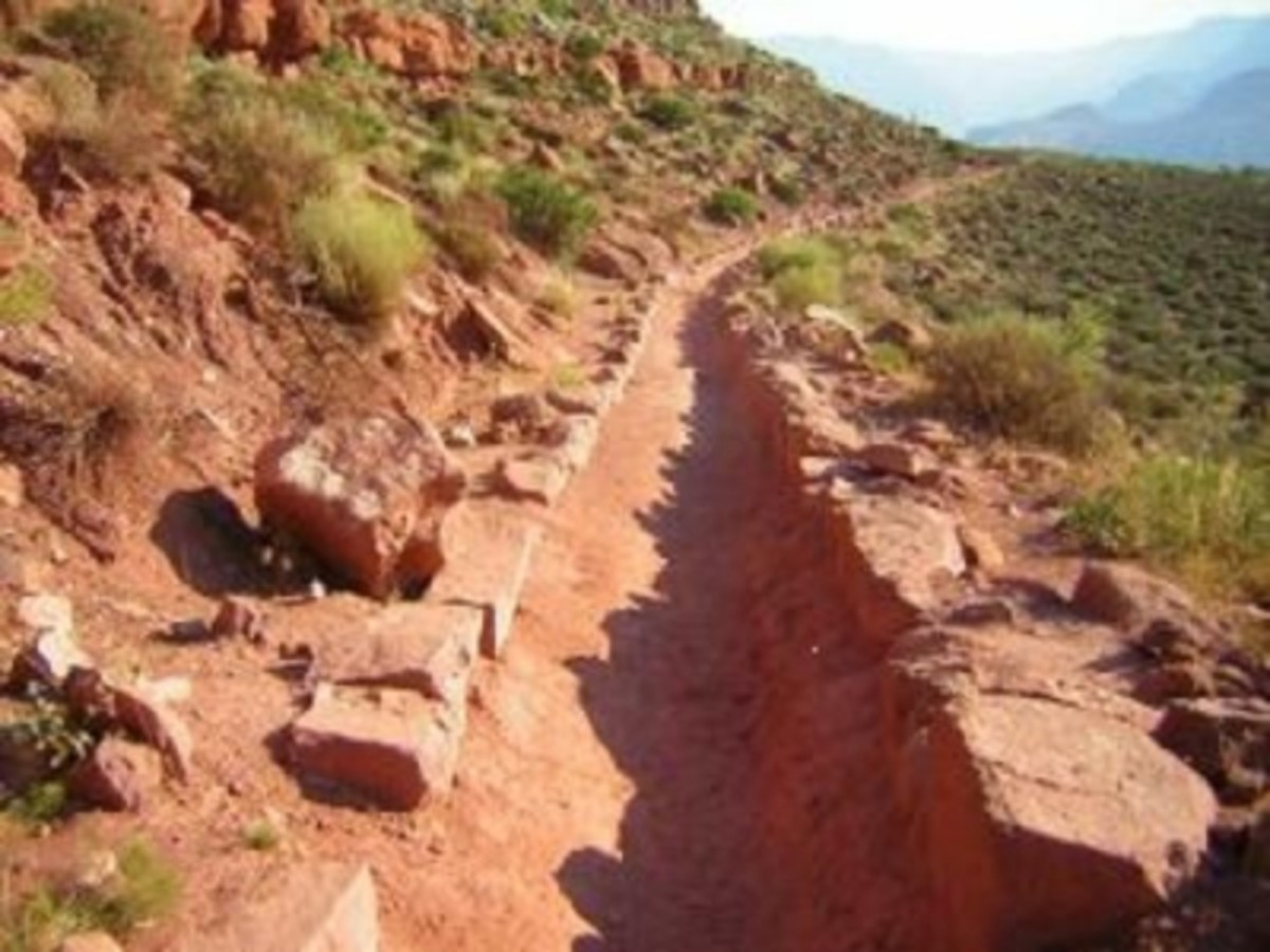 "A Maintained Grand Canyon ""Corridor Trail"""