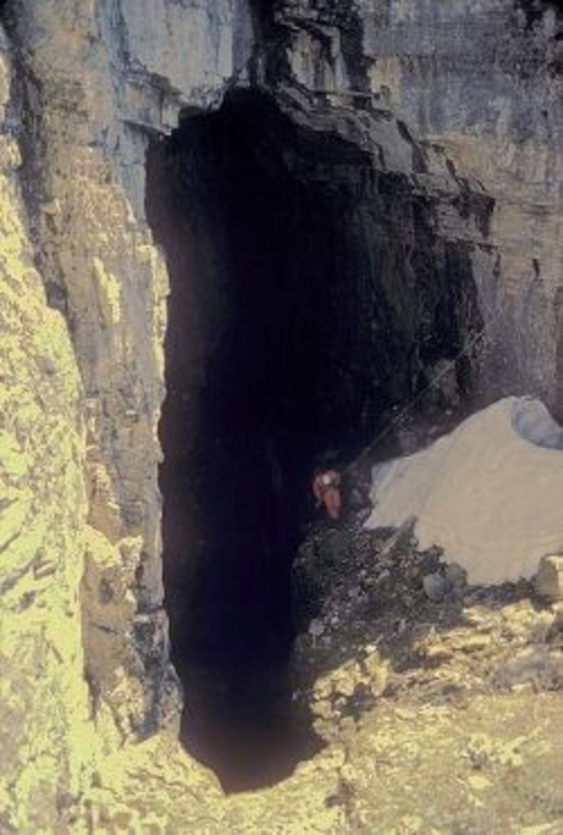 Note: This is not the actual cave