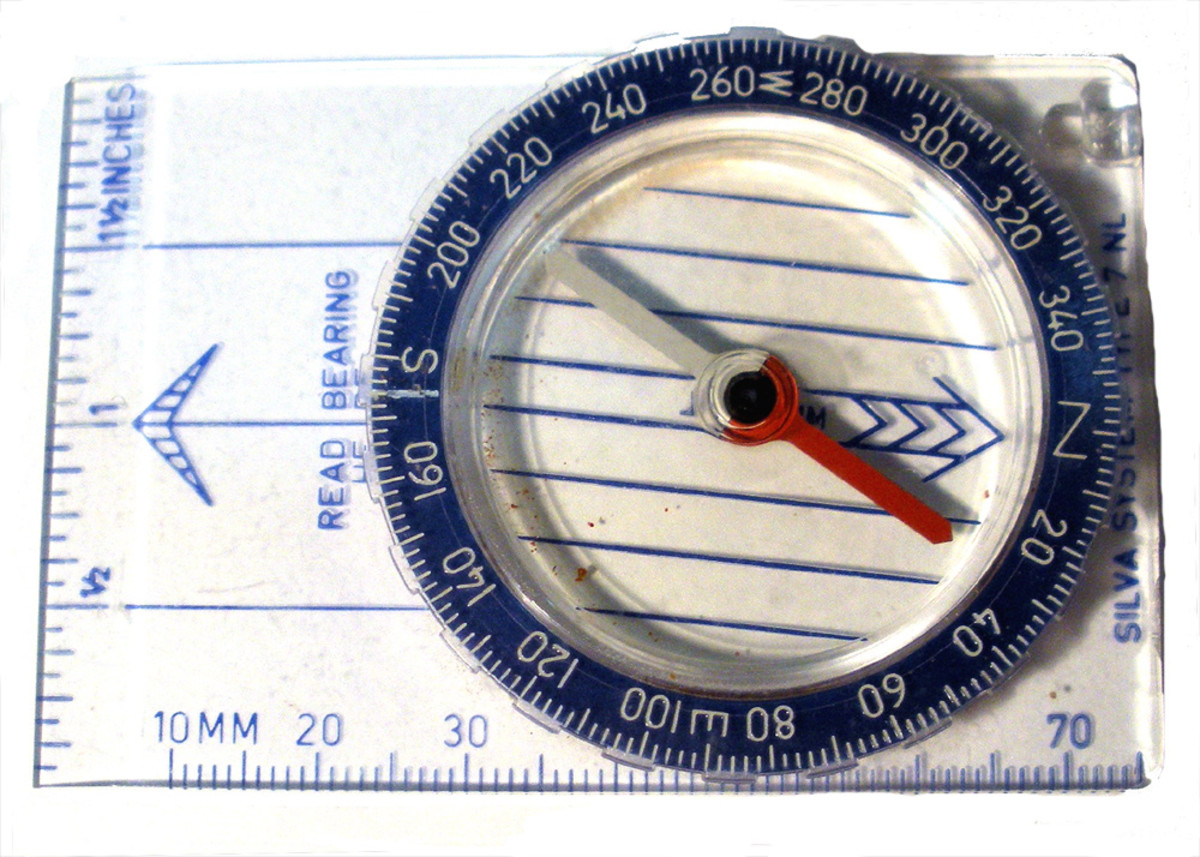 Basic liquid-filled compass