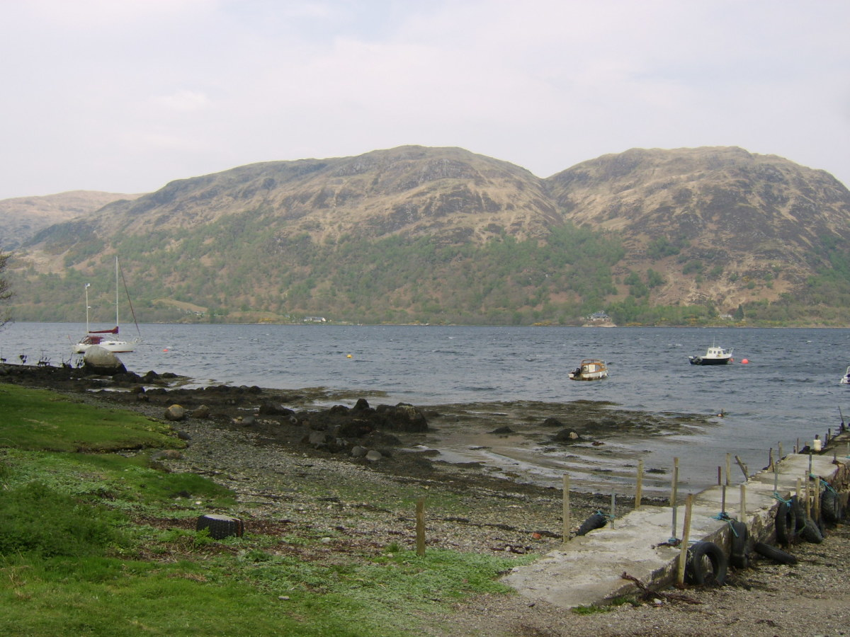 Taynuilt Fishing Club Boats Operate from Airds Bay, by Taynuilt