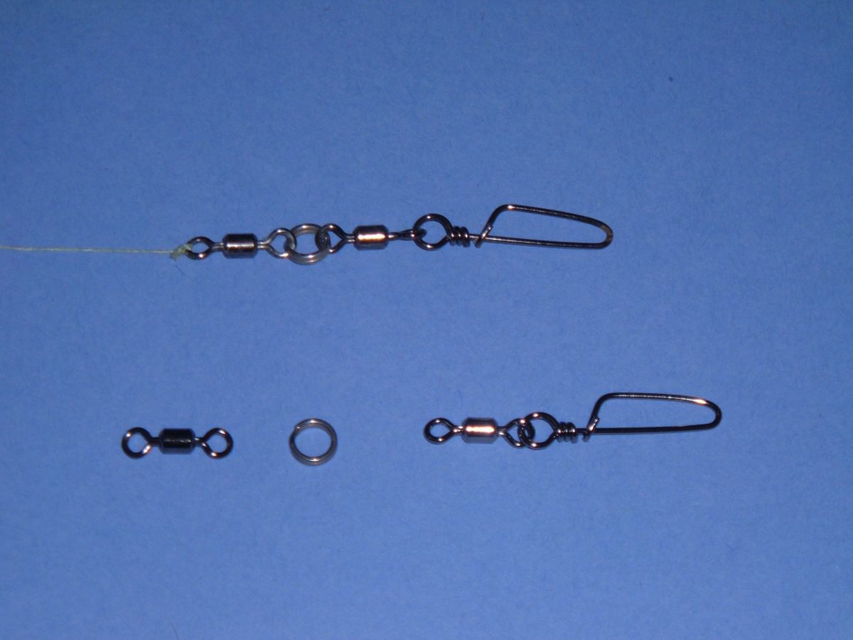Stainless Steel Tackle to Reduce Line Twist
