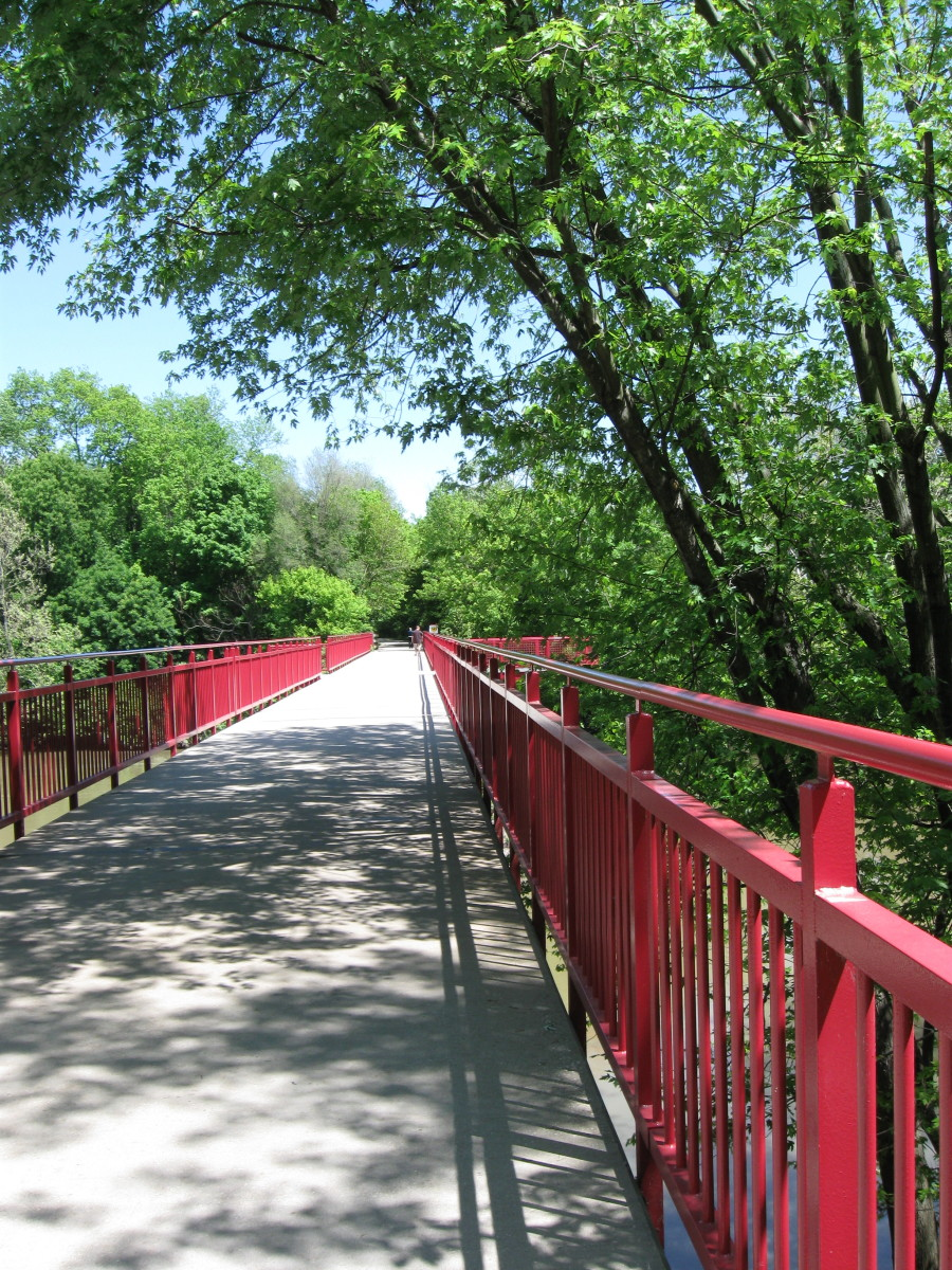 North of Broad Ripple on the Monon Trail