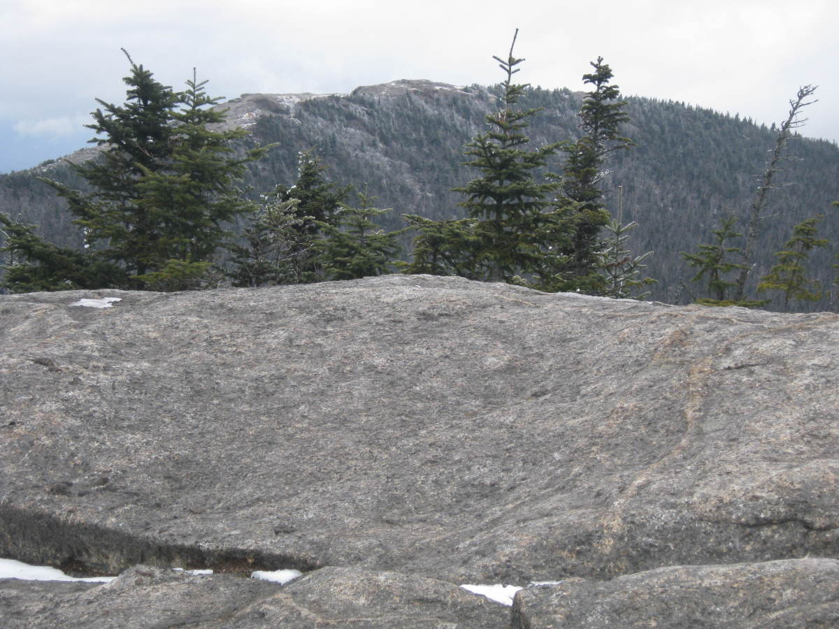 Cascade from the summit of Porter