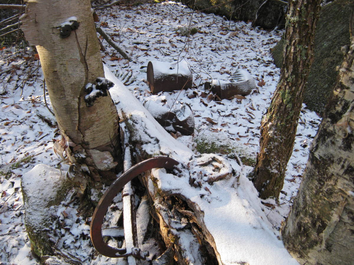 Remains of an earlier time in the Adirondacks.
