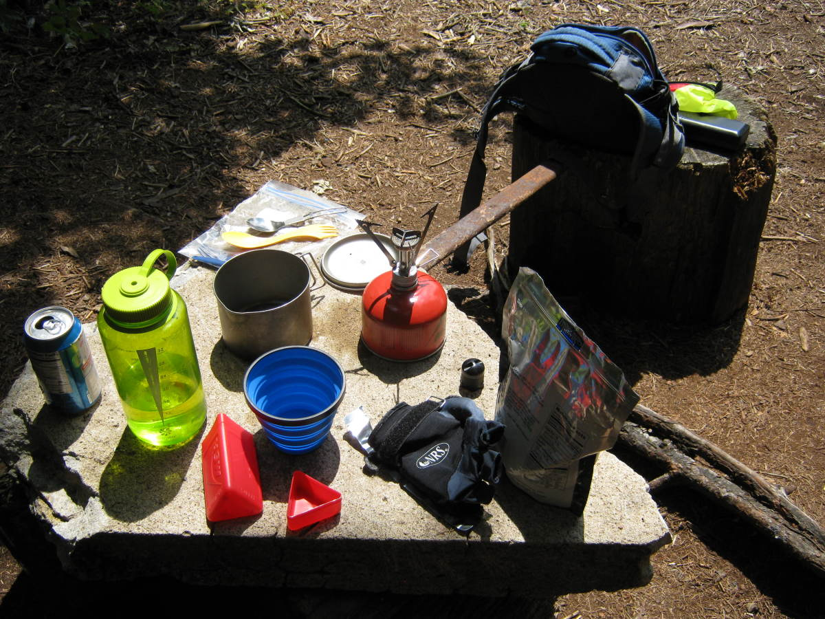 You stop for a quick shore lunch while canoeing, do you really want to start a fire?  The MSR Pocket Rocket is ideal for such ventures.