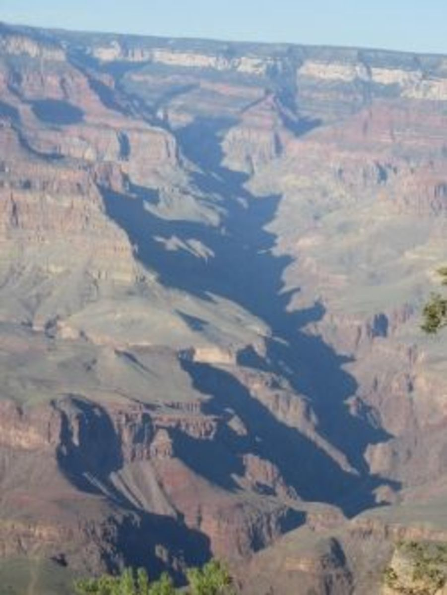 Bright Angel Fault in Grand Canyon