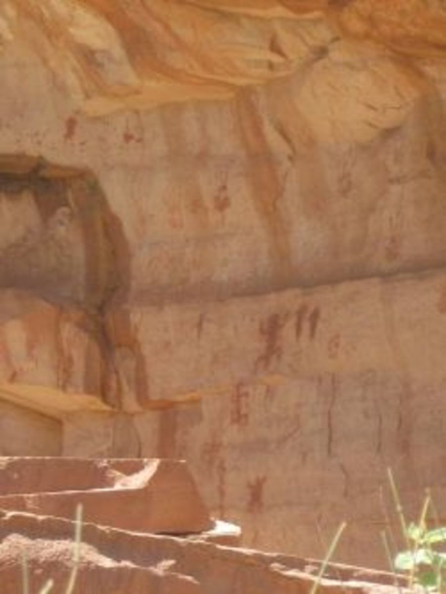 Grand Canyon rock art