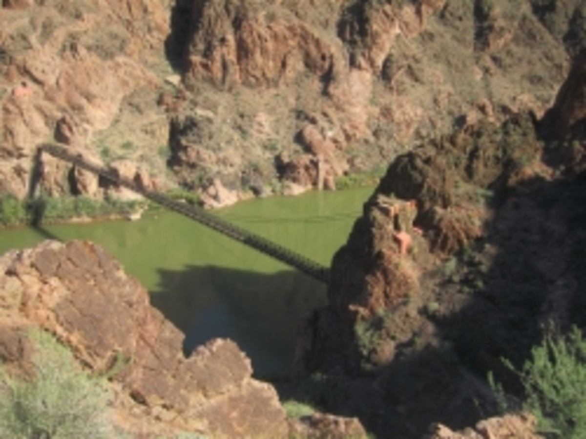 Black Bridge across the Colorado River