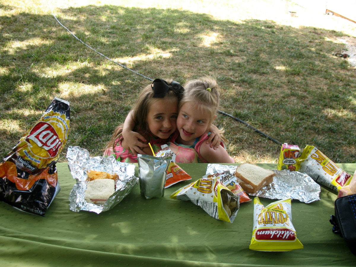 Make sure to bring snacks for a long hike. You may want to enjoy a picnic while you are out.