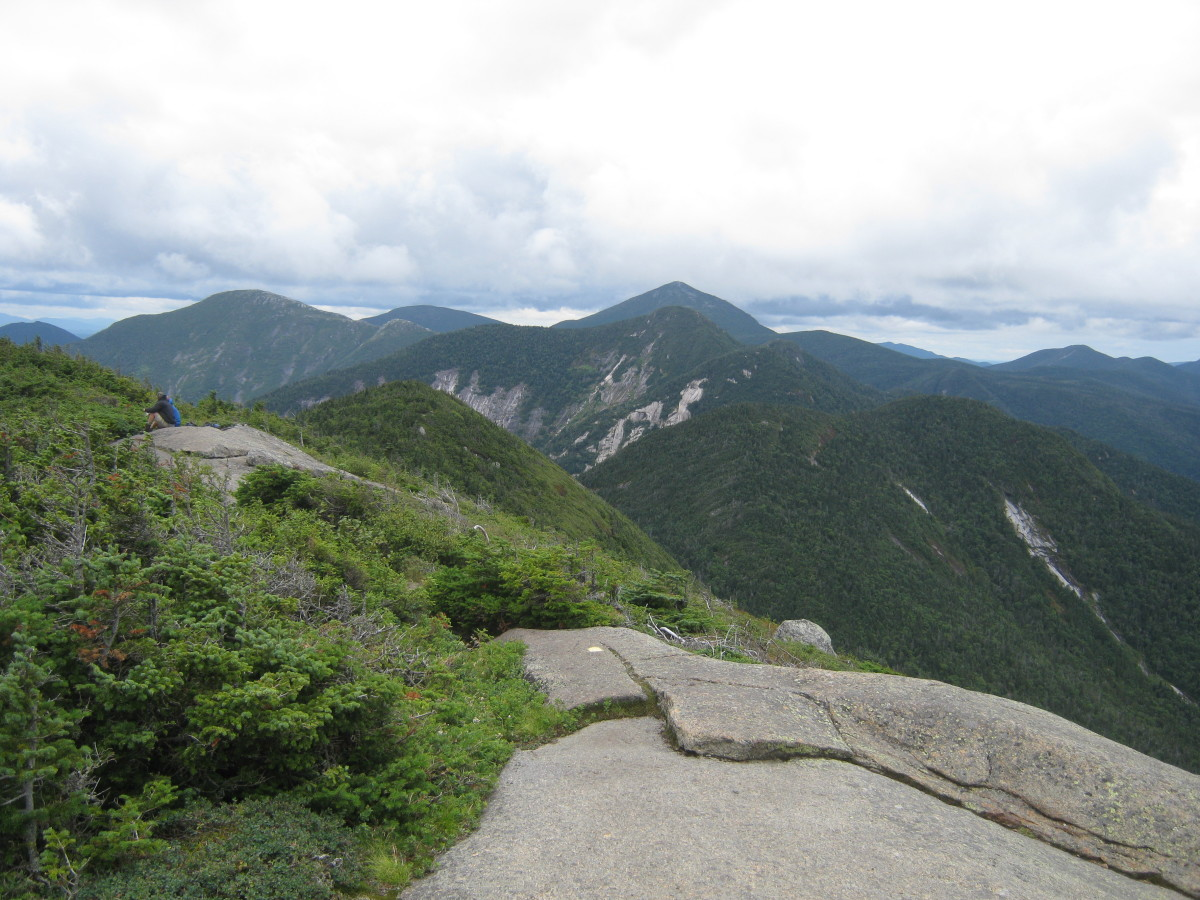 Looking toward the Upper Range from the summit of Gothics.