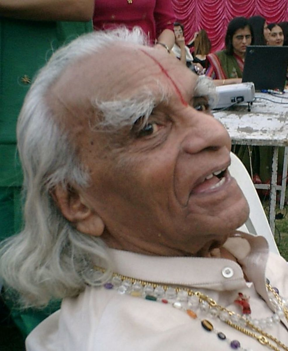 B.K.S. Iyengar December 14, 1918 - August 20, 2014