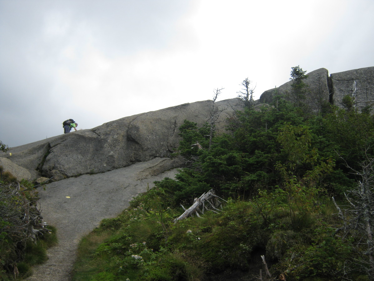 That looks like it could be a long fall!  Physically prepare yourself for hiking by gradually your activity level.