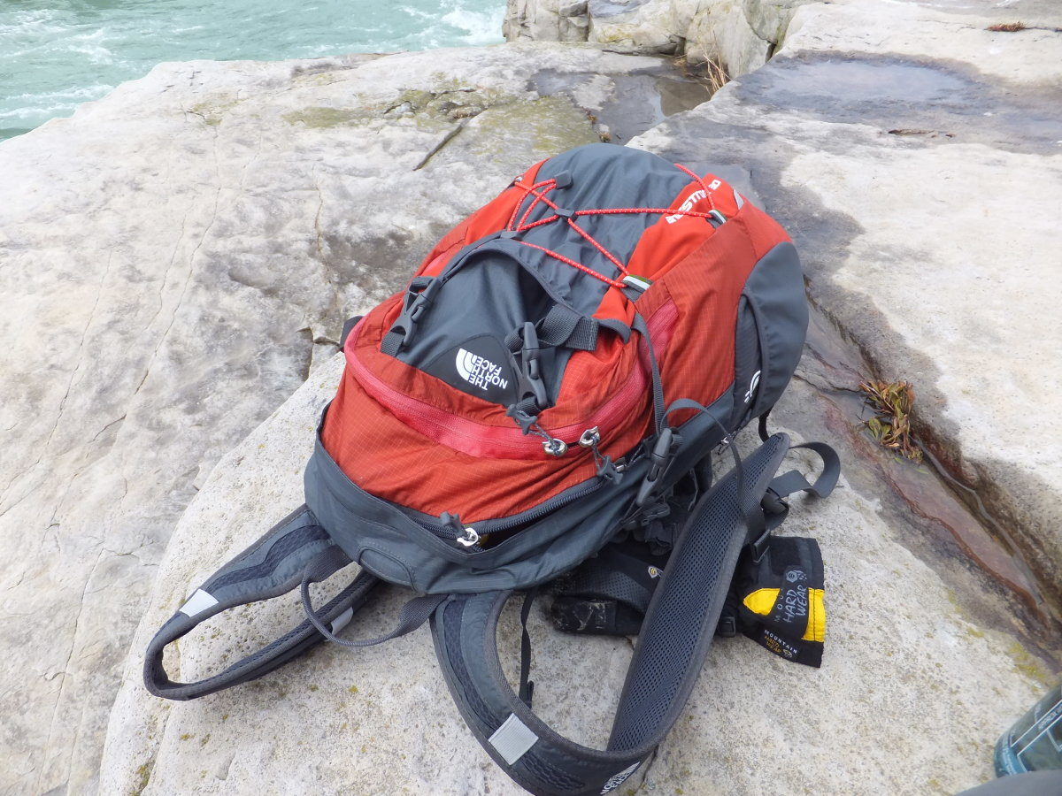 The Angstrom pack from The North Face is a great pack to carry your ten essentials on any day hike.