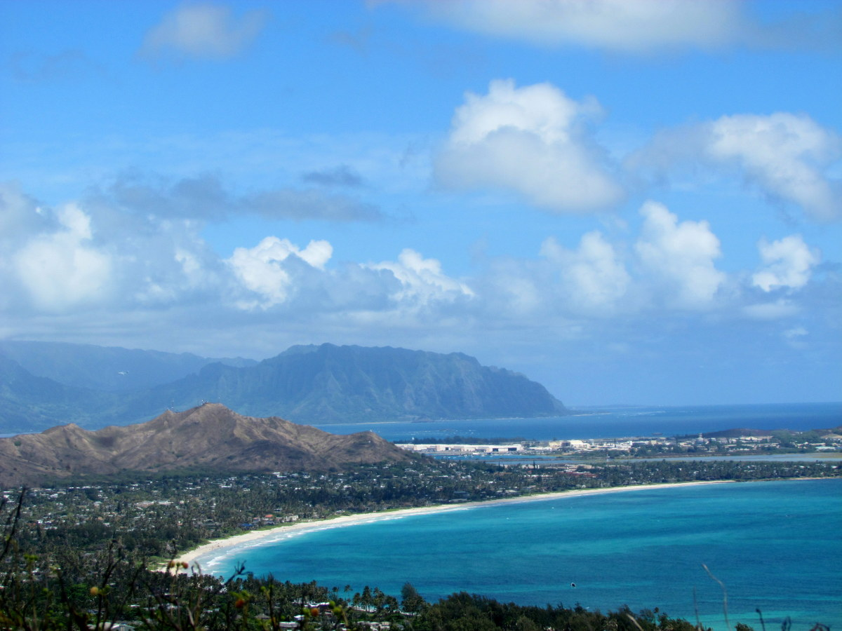 Looking toward Kailua
