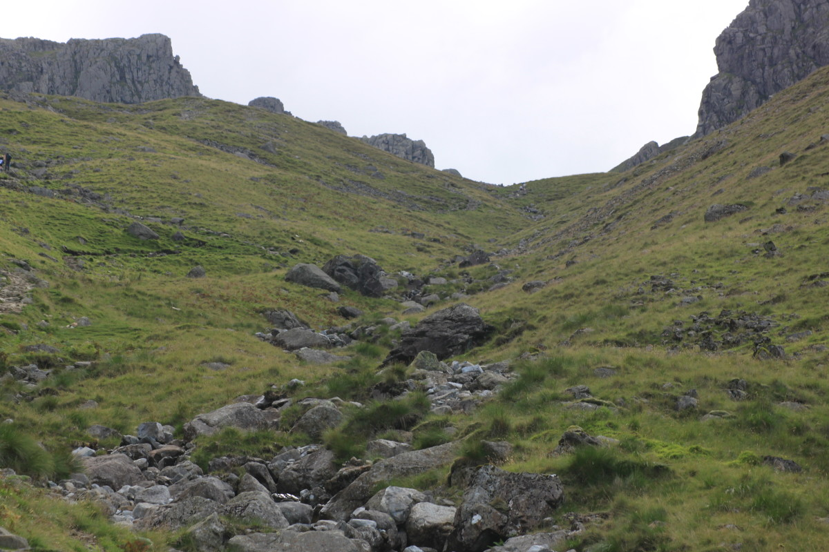 Head over Brown Tongue and into Hollow Stones on your way up to Scafell Pike Summit