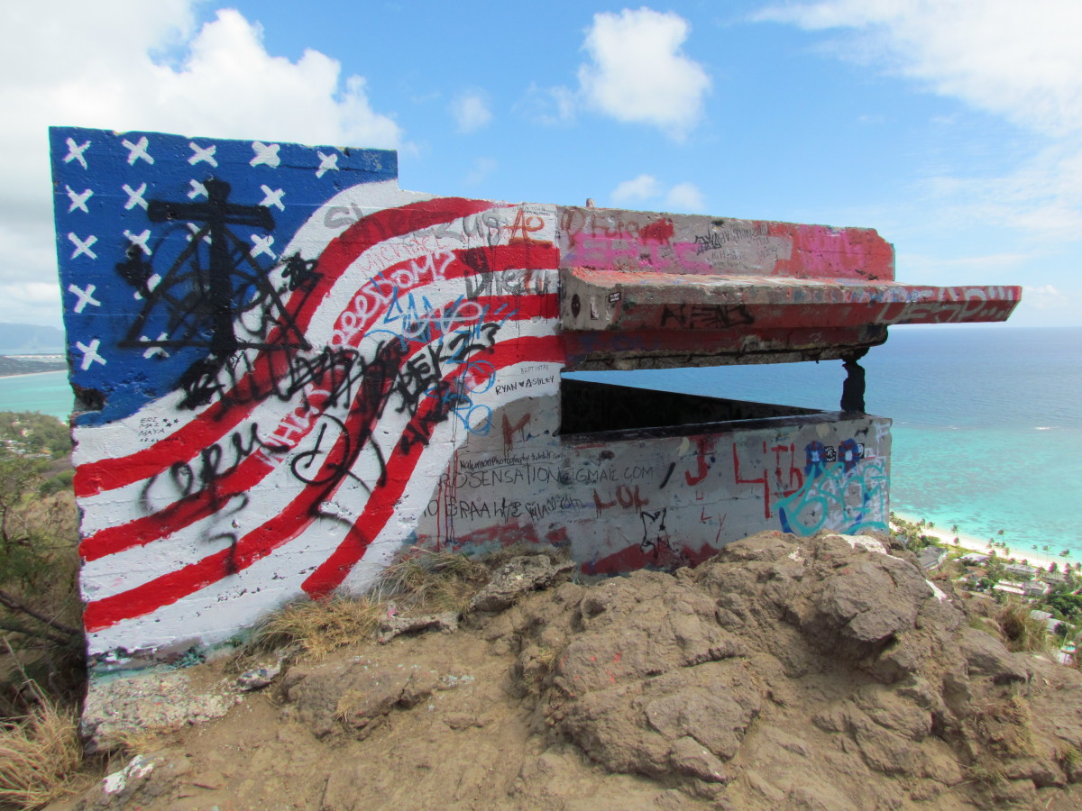 The 'first' Lanikai pillbox