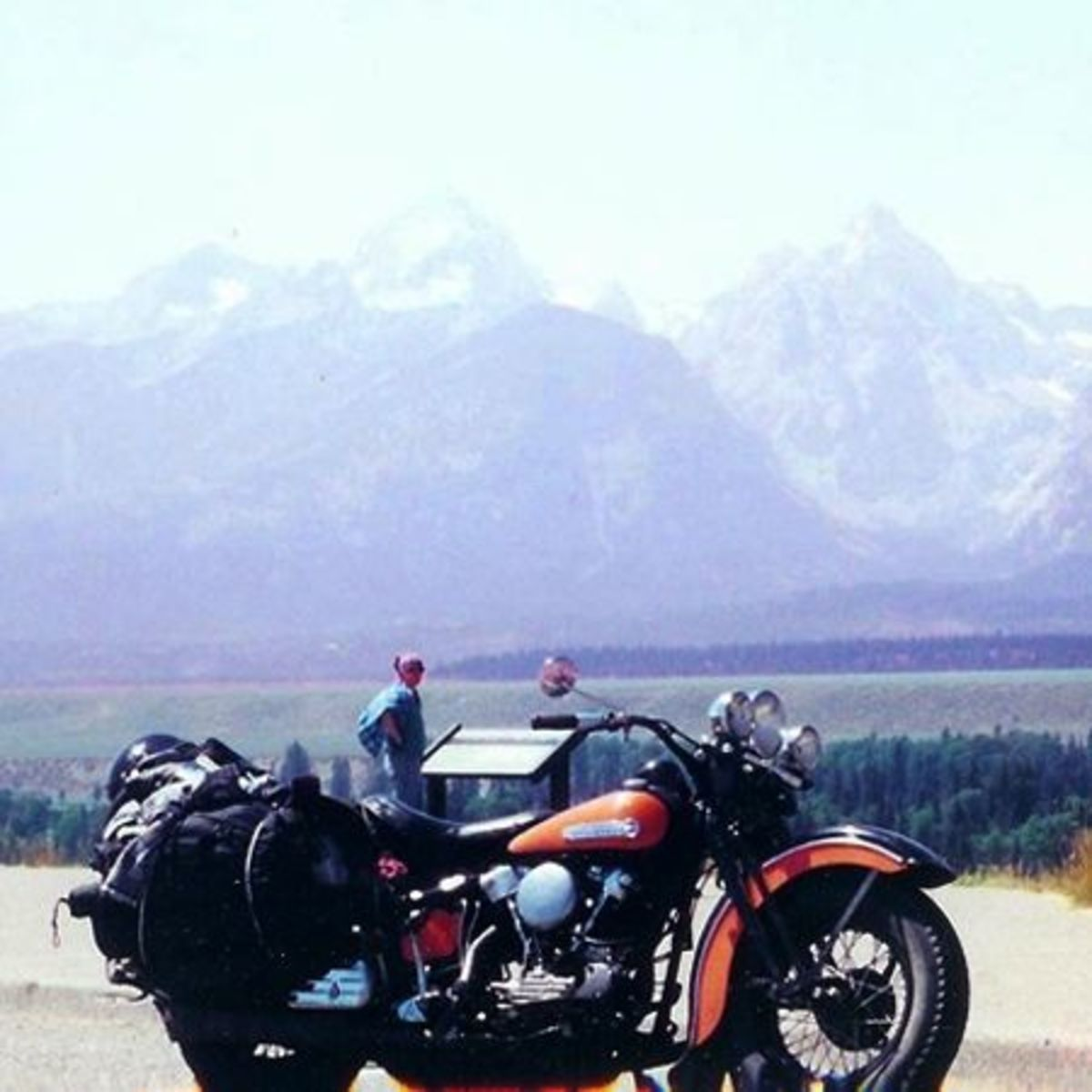 The Knucklehead at the Grand Tetons