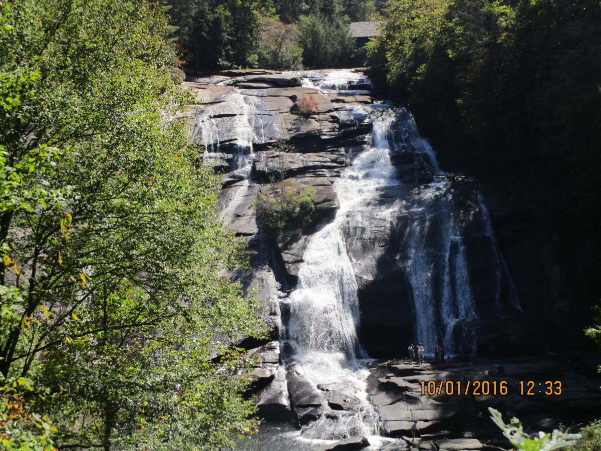 Triple Falls Dupont State Forest - Cedar Mountain, NC
