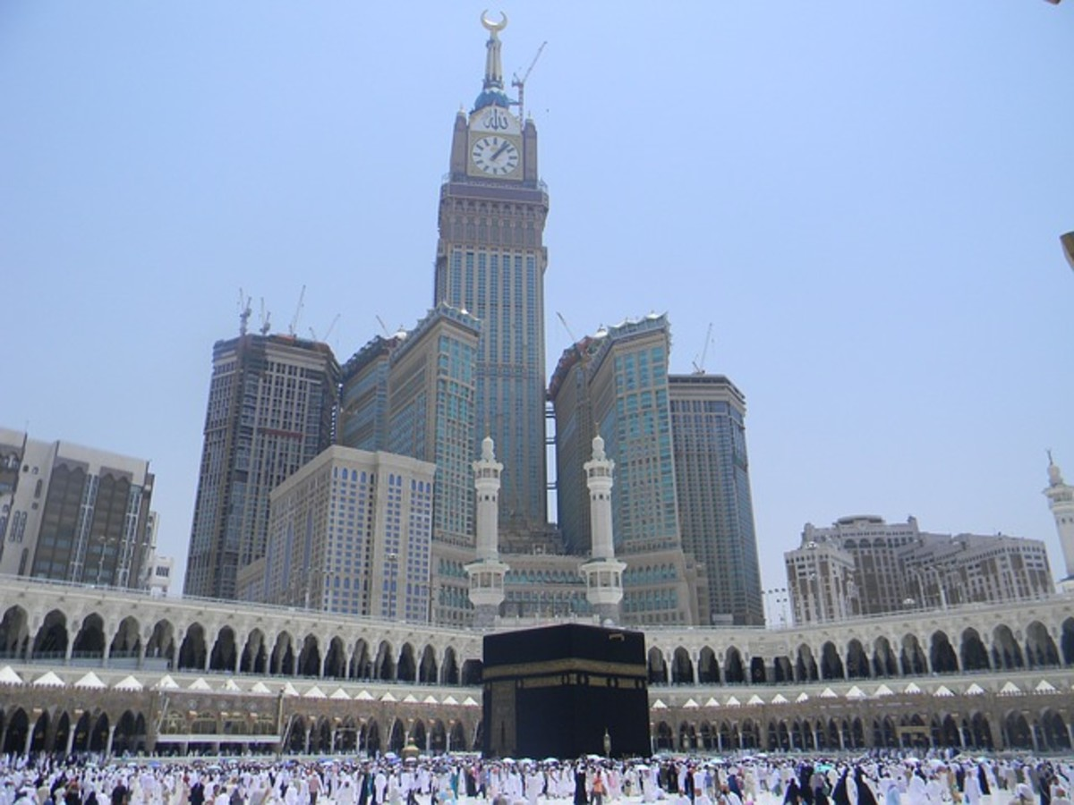 Mecca.  The Kingdom of Saudi Arabia is ruled by an absolute monarch and royal family.  This type of government system is less common in the modern world than it used to be, and there can be problems of legitimacy when rulers are not elected.