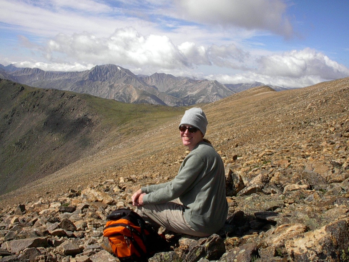For your fourteener attempt, dress in layers, carry a day pack with food, water and other essentials, and don't forget the sunscreen.