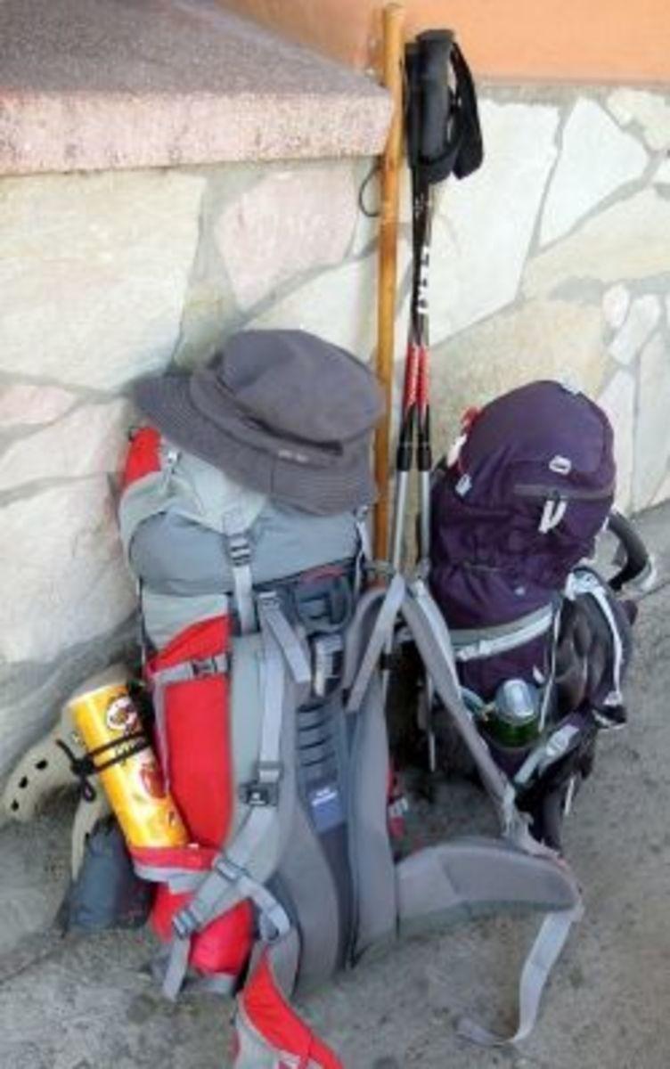 Camino de Santiago, packlist, pilgrim