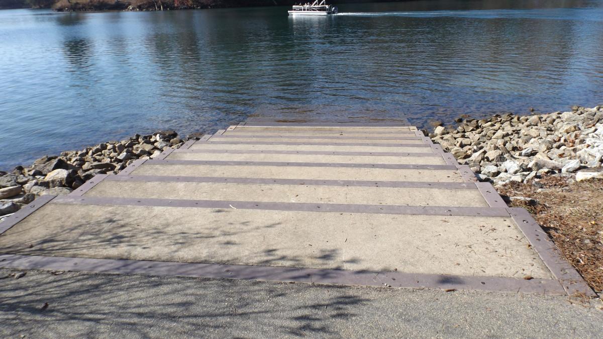 Canoe Launch Stairs