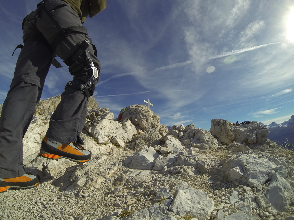 Kurt Morrison reviewing the Scarpa Triolet Pro GTX Mountaineering Boot