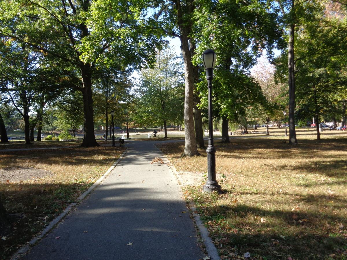 The neighborhood park where I hung out.