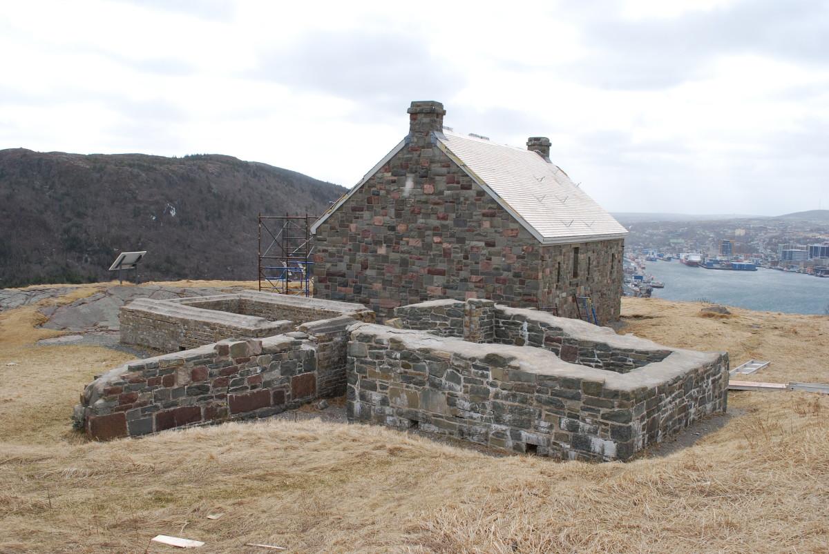 The Queen's Battery Barracks.