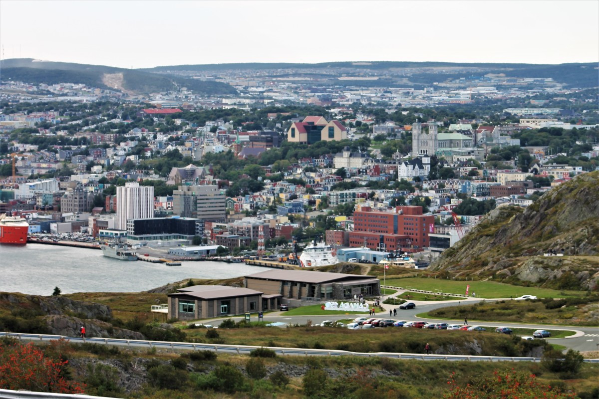 View of the City of St. John's From Ladies Lookout