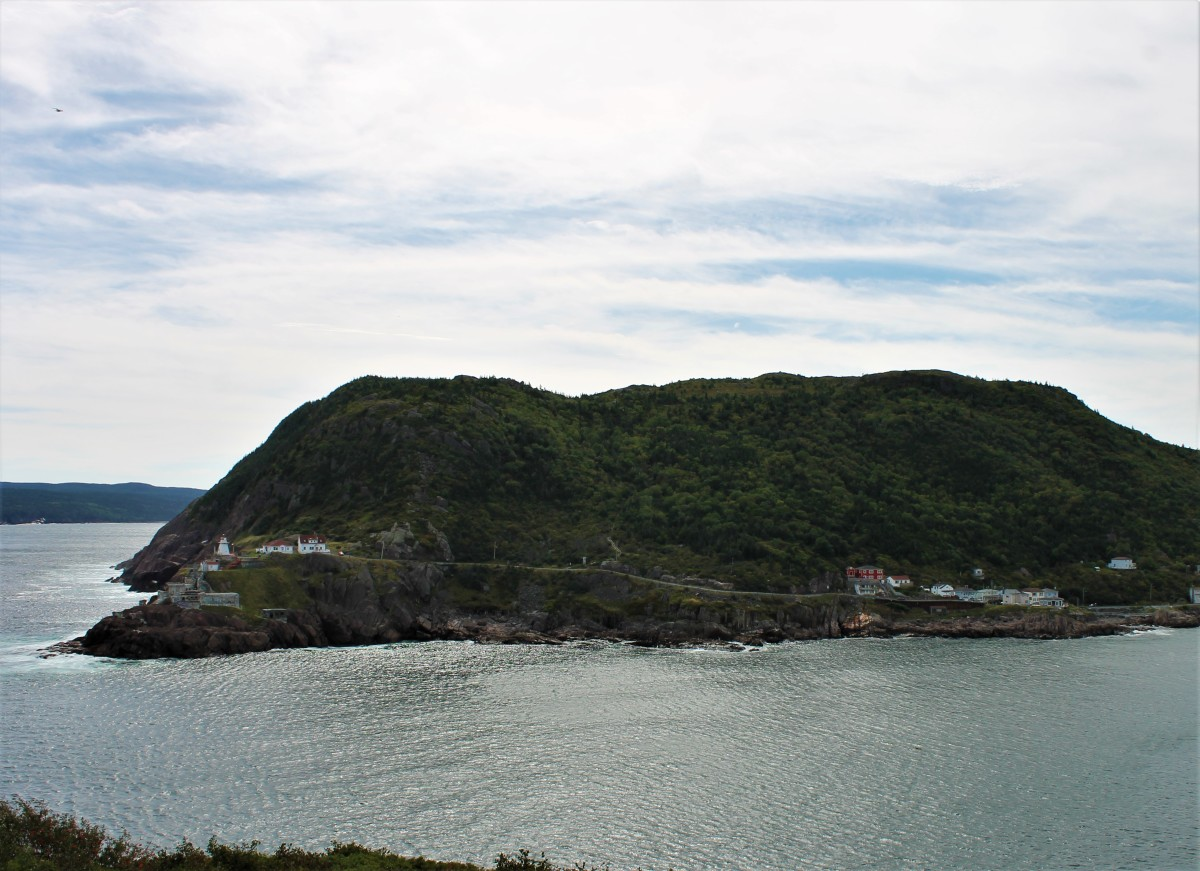 View From the Northhead Trail Looking Across St. John's Harbour at Fort Amherst