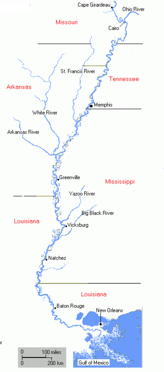 Lower Mississippi, from Cairo to the Gulf of Mexico
