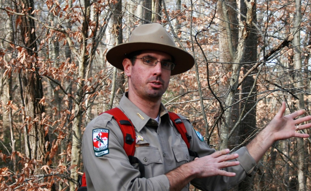 First Day Hikes are led by Department of Natural Resources rangers.