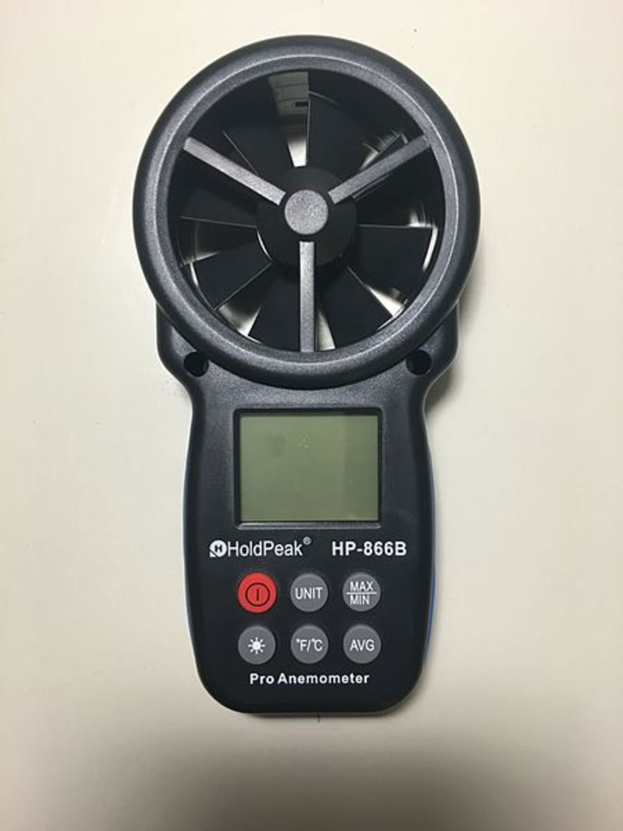 A Hand Held Wind Meter (Anemometer)