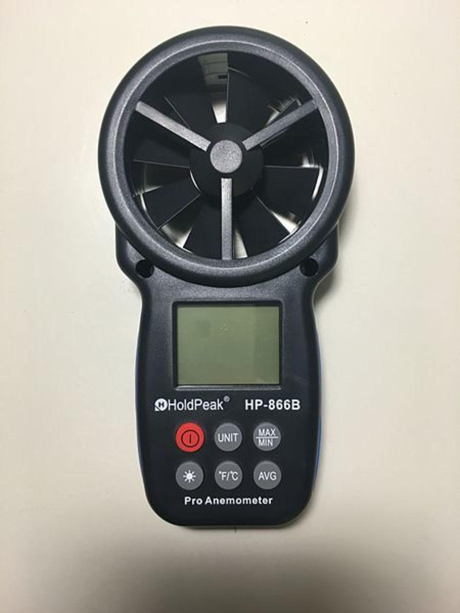 A Hand Held Wind Meter (Anemometer)